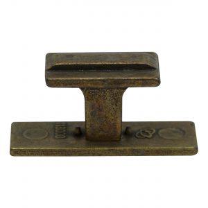 ידית כפתור 118 – פליז עתיק O1