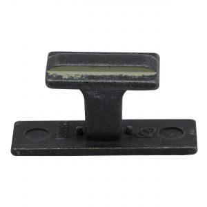 ידית כפתור 118 – ברזל מושחר וואש אייבורי C2