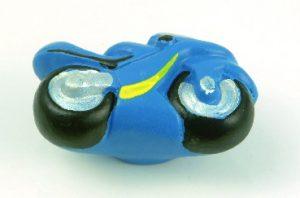 ידית כפתור AZ/355 אופנוע – קרמיקה כחול
