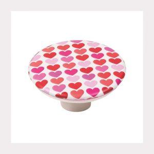 """ידית כפתור 743 – 50 מ""""מ לבבות A2"""