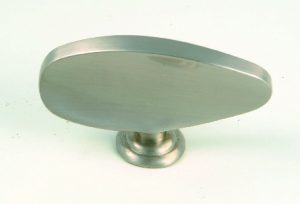 ידיות כפתור למטבח ורהיטים 1113 – ניקל מט מוברש 03