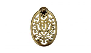 """ידיות כפתור למטבח ורהיטים 03158 – 73 מ""""מ  ברונזה פירנצה M09 Alhambra"""