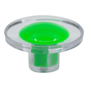 ידית כפתור 3521 – שקוף / ירוק