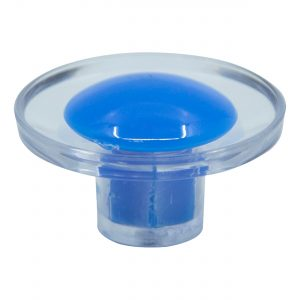 ידית כפתור 3521 – שקוף / כחול