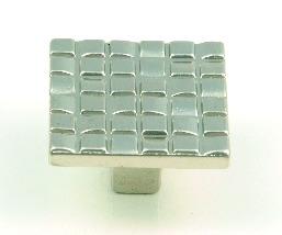 ידיות כפתור למטבח ורהיטים 3522 – ניקל מט 01
