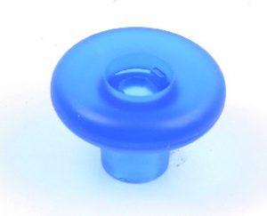ידית כפתור 3525 – עגול כחול
