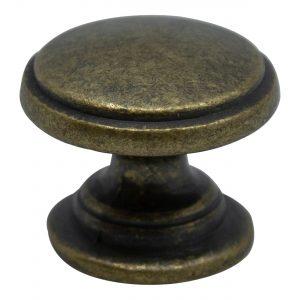 ידיות כפתור למטבח ורהיטים 8176 – ברונזה עתיקה 22