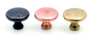 """ידיות כפתור למטבח ורהיטים P492  32 מ""""מ – ברונזה עתיקה 22"""