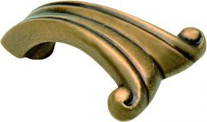 """ידיות כפתור למטבח ורהיטים 15051 – 45 מ""""מ ברונזה פירנצה M09"""