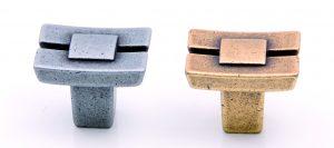 """ידיות כפתור למטבח ורהיטים 24037 – 24 מ""""מ ברזל עתיק M19"""