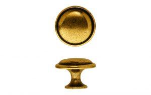 """ידיות כפתור למטבח ורהיטים 24221 – 25 מ""""מ ברונזה פירנצה M09"""