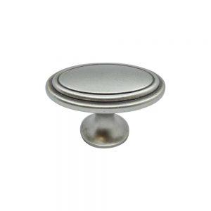 """ידיות כפתור למטבח ורהיטים 51496 – 60 מ""""מ בראס עתיק מושחר F93 Oval"""