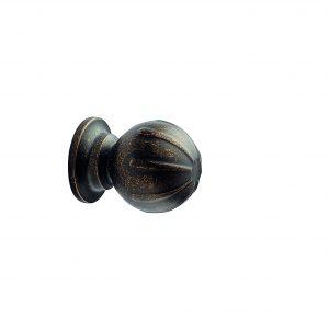 ידיות כפתור למטבח ורהיטים 53396 – חום עתיק F23 Banister