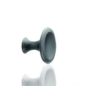 """ידיות כפתור למטבח ורהיטים 54086 – 42 מ""""מ ברזל עתיק Bell F22"""