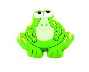 ידית כפתור גומי AB001 – צפרדע ירוק
