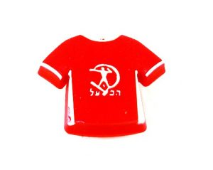 ידית כפתור גומי AB002 – חולצה אדומה