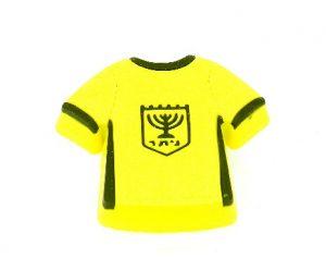 ידית כפתור גומי AB003 – חולצה צהובה