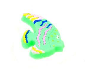 ידיות כפתור למטבח ורהיטים גומי AB006 – דג טורקיז