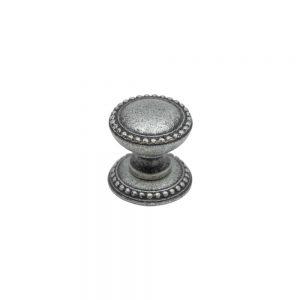 ידיות כפתור למטבח ורהיטים LIC 45 –  25X25 כסף עתיק 35