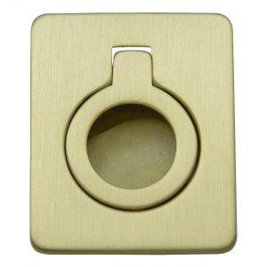 ידיות כפתור למטבח ורהיטים MB 826 – 53X43 זהב מוברש מט