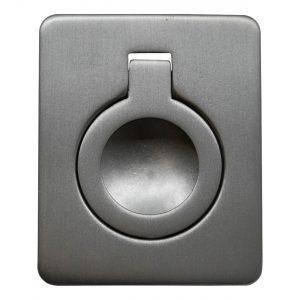 ידיות כפתור למטבח ורהיטים MB 826 – 53X43 ניקל מוברש 02