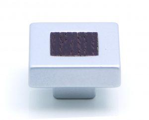 ידיות כפתור למטבח ורהיטים PO410 – כרום מט / וונגה