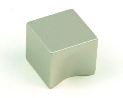 """ידיות כפתור למטבח ורהיטים PO459 20 מ""""מ – ניקל מט 01"""