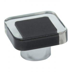 ידיות כפתור למטבח ורהיטים S6002 –  שחור