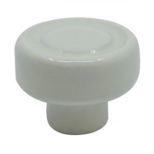 ידיות כפתור למטבח ורהיטים T105 – קטן קרמיקה  קרם