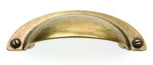 """ידיות למטבח ורהיטים P4806 מרחק ברגים 64 מ""""מ ברונזה עתיקה 22"""