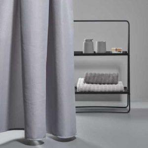וילון למקלחת Zone Lux 200/180 – אפור