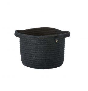 """סלסלה עגולה Roll ק' 18 ס""""מ – שחור 352074"""