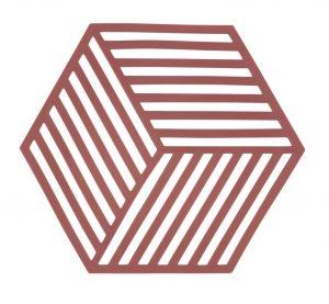 תחתית לסיר Hexagon – אדום סיינה 371029