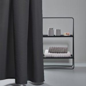 וילון למקלחת Zone Lux 200/180 – שחור