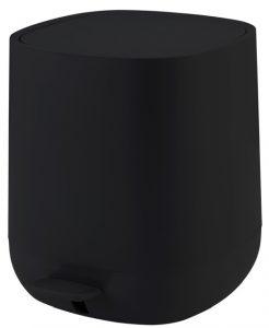פח אמבט שחור 5 ליטר KARA  טריקה שקטה