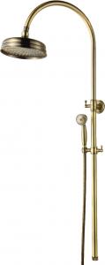 מוט פינוק רטרו כפרי Brass ברונזה  – 12 שנות אחריות