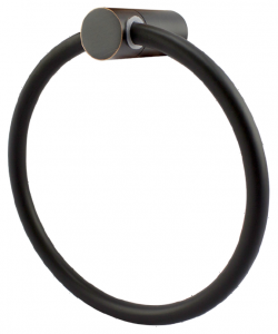 טבעת למגבת מושחר – 12 שנות אחריות סדרת Elite