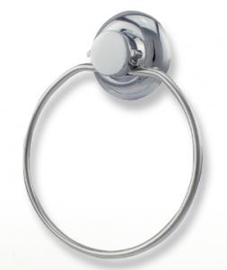 """טבעת למגבת נירוסטה – חיבור ע""""י ואקום או הדבקה ללא קדיחה סידרת lock."""