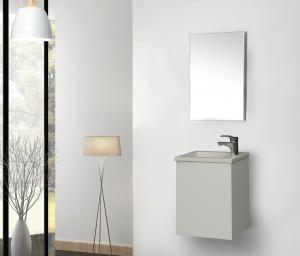 ארון אמבטיה דגם FIT לבן כולל כיור