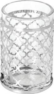 כוס מברשות שיניים עיטור נירוסטה מבריקה – סדרת GAIA