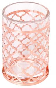 כוס מברשות שיניים עיטור רוז גולד – סדרת GAIA