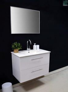 ארון אמבטיה דגם ליקה מגרות כולל כיור או משטח עץ