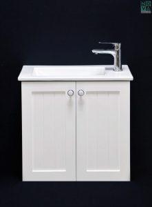 ארון  אמבטיה דגם לילך כולל כיור או משטח עץ
