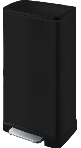 פח ג'אווה 45 ליטר מרובע שחור