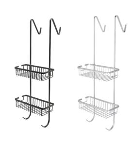 מדף רשת כפולה לתליה על מקלחון – מבצע חיסול